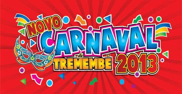 Programação oficial do novo carnaval de tremembé 2013