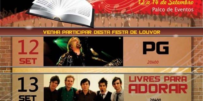Aviva tremembé 2013 terá apresentações de pg, livres para adorar e davi sacer. Confira programação completa