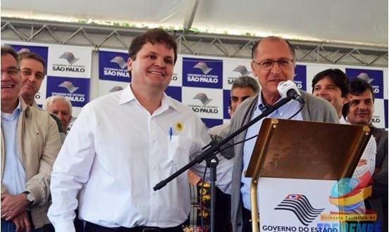 Governador Alckmin atende pedidos do Prefeito Vaqueli e anuncia melhorias para cidade