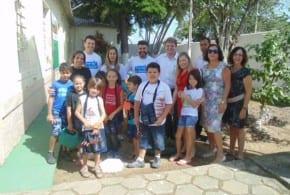 """Fundo Social de Tremembé inaugura """"Projeto Horta Educativa"""" que visa relação com meio ambiente e alimentação saudável as crianças"""