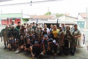 Caminhada Solidária arrecadou doações para Campanha do Agasalho 2014