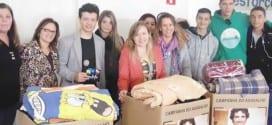 Fundo Social, Sabesp e Escola Manuel Cabral realizam gincana para ajudar Campanha do Agasalho 2014