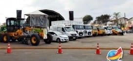 Prefeitura expõe para população veículos conquistados