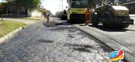 Começam as obras de asfalto na rua Octaciano Xavier de Castro no Benvirá