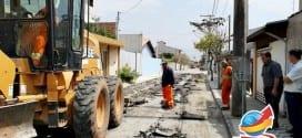 Bairro Vale das Flores começa a receber obras de asfalto