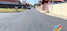 Obras de asfalto e galerias de águas pluviais chegam ao Jardim Ana Cândida