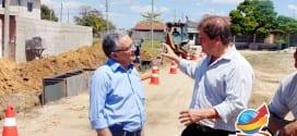A maior obra da história de Tremembé: Começa oficialmente obras de esgoto no Maracaibo