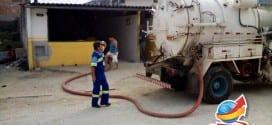 """Prefeitura e Sabesp disponibilizam caminhão """"Limpa Fossa"""" para região do Maracaibo"""