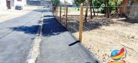 Prefeitura realiza revitalização de área verde no Jardim Santana