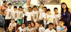 Alunos da Escola Nicolau Couto Ruiz visitam prefeito Marcelo Vaqueli