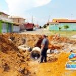 Prefeitura constrói nova rua e galerias para acabar com enchentes na Rua Passa Quatro no Parque das Fontes