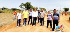 Vaqueli e vereadores visitam 37 obras em andamento em Tremembé