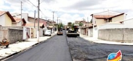 Residencial Ana Cândida começa a receber obras de asfalto