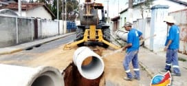 Vila Didi Vargas recebe obras de captação de águas pluviais