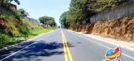 Prefeitura realiza sinalização de solo na Avenida Maria do Carmo Ribeiro