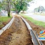 Prefeitura de Tremembé inicia obras de aproximadamente 4 Km de ciclovias
