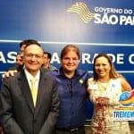 Vaqueli assina convênio com Geraldo Alckmin para maior obra de asfalto de Tremembé