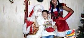 Parada de Natal e chegada do Papai Noel em Tremembé tem sucesso de público