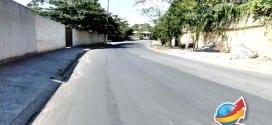 Trecho crítico da Avenida Audrá recebe novo asfalto