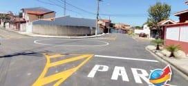 Finalizada obras de asfalto, galeria e pintura no Residencial Ana Cândida