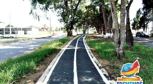 Prefeitura de Tremembé conclui 1,5 Km de ciclovia na Avenida Luiz Gonzaga das Neves