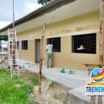 Prefeitura está construindo cinco novas salas de aula na Escola Amália Patto