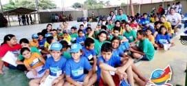 Alunos participam do 1º Encontro do Programa Mais Educação de Tremembé