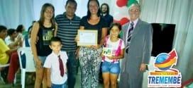 Programa FAST- Famílias e escolas juntas gradua famílias de Tremembé
