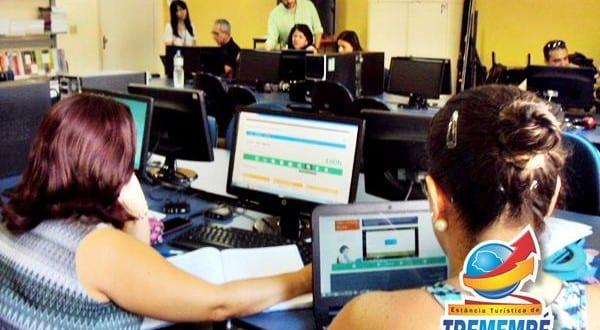 Tremembé oferece posto com internet e cursos grátis a quem busca emprego