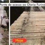 Prefeitura de Tremembé constrói nova ponte na região do Olaria do Furinó