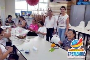 Primeira Dama Andrea Vaqueli visita Casa do Idoso em São José dos Campos