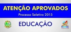 Sexto Edital de convocação dos aprovados no Processo Seletivo para Professor II
