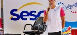 Edmilson Campeão Mundial pela Seleção Brasileira de Futebol visita Tremembé