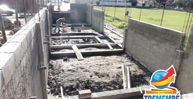 Incentivo ao Esporte: Obras no Campo do Turfa no Jardim Santana seguem em ritmo acelerado