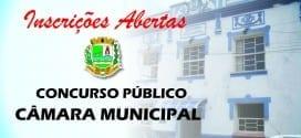 Câmara Municipal de Tremembé abre inscrições para Concurso Público