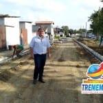 Começa revitalização na Quadra de Esportes do Jardim Santana
