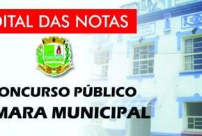 Câmara Municipal de Tremembé divulga edital de divulgação de notas das provas objetivas