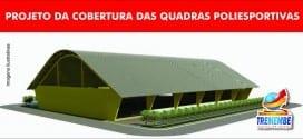 Escolas Maria Amélia do Patrocínio (Padre Eterno) e Emília de Moura Marcondes (Eldorado) ganharão quadras poliesportivas cobertas
