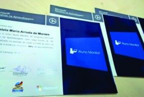 A Prefeitura de Tremembé, através da Secretaria de Educação, firma parceria com a Microsoft para a formação do aluno-monitor