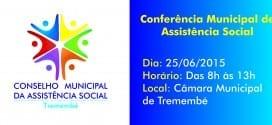 Prefeitura convida população para Conferência Municipal de Assistência Social