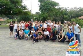 Aulas de Ginástica agitam público no Horto Municipal de Tremembé