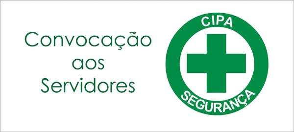 Convocação dos eleitos da CIPA e edital de eleição gestão 2015/2016