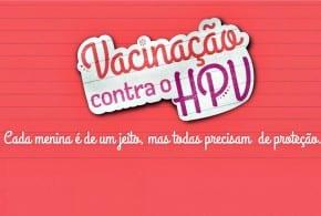 Secretaria de Saúde realiza Campanha de Vacinação contra o HPV – 2ª Dose