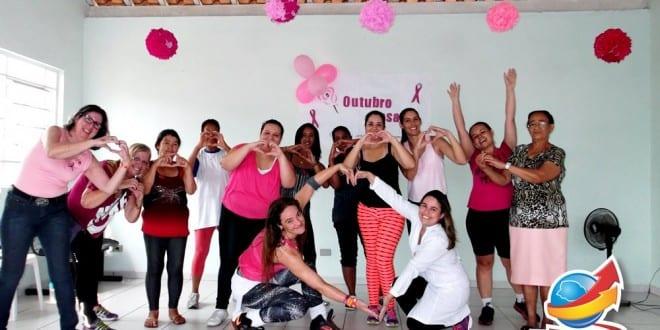 ESF Flor do Vale realiza atividades em comemoração ao Outubro Rosa