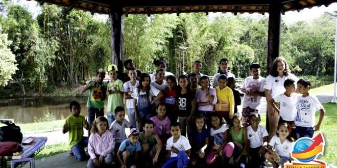 Celebração do dia das Crianças no Horto Municipal