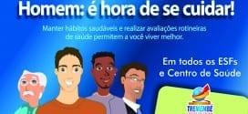 """Tremembé realiza campanhas simultâneas de saúde """"Novembro Azul, Tuberculose e Fique Sabendo"""""""