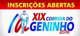 Abertas inscrições para tradicional Prova Pedestre do Geninho 2016 em Tremembé. Participe!