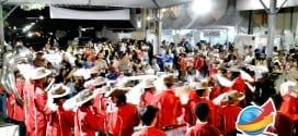 Alunos da Rede se destacam em apresentação com a BAMUTRE na Festa da Paróquia São José