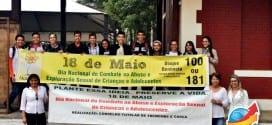 Secretaria de Ação Social realiza mobilização no Combate ao Abuso e Exploração Sexual contra Crianças e Adolescentes