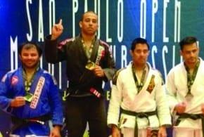 Atleta tremembeense garante o bicampeonato de jiu jitsu em São Paulo